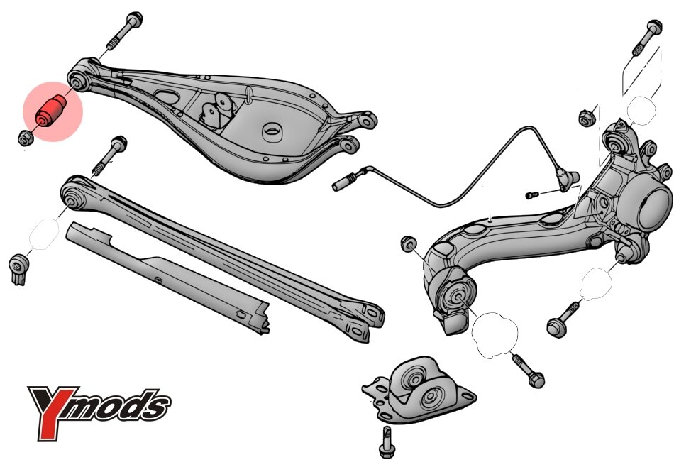 ford probe front suspension diagram